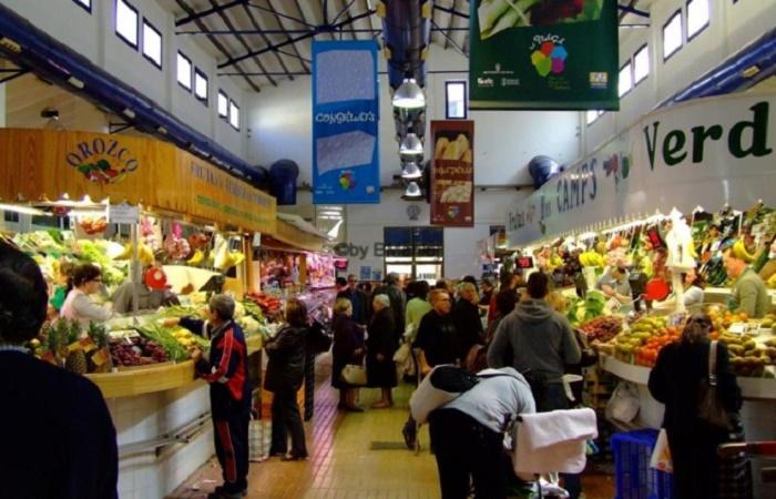 Markeder i Denia