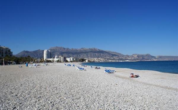 Stranden Cap Blanch i Altea