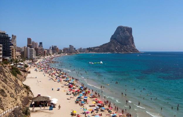 14 topp strender i Calpe i Spania