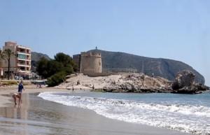 De beste strendene i Moraira i Spania