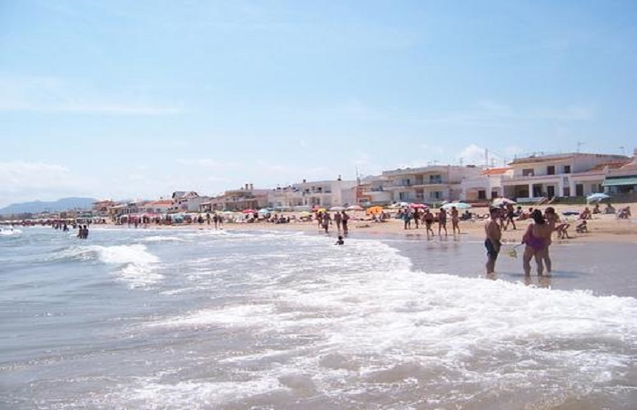 Stranden Terranova Burguera i Oliva