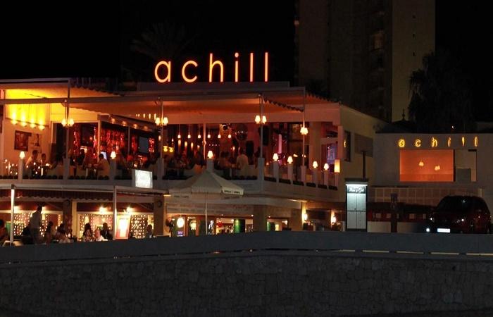 Nattklubb Achill i Javea