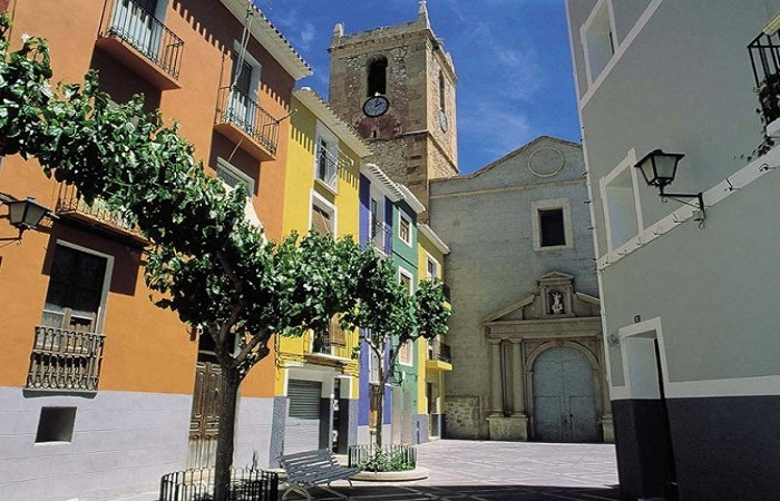 Gamle byen i Villajoyosa