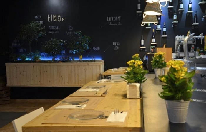Restaurant Lima Limon i Murcia