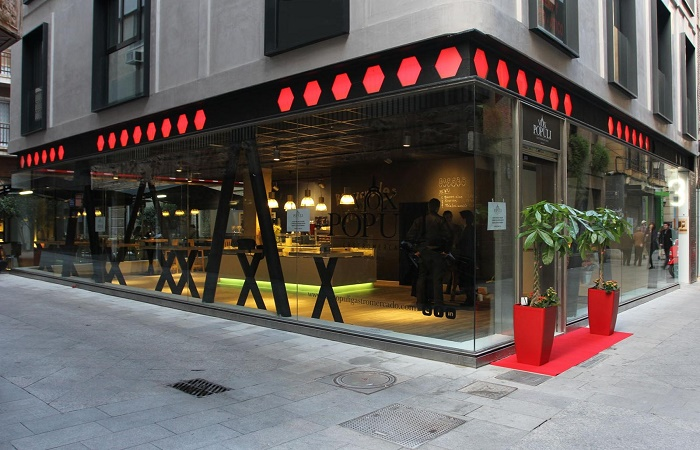 Restauranter Vox Populi Gastromercado i Murcia