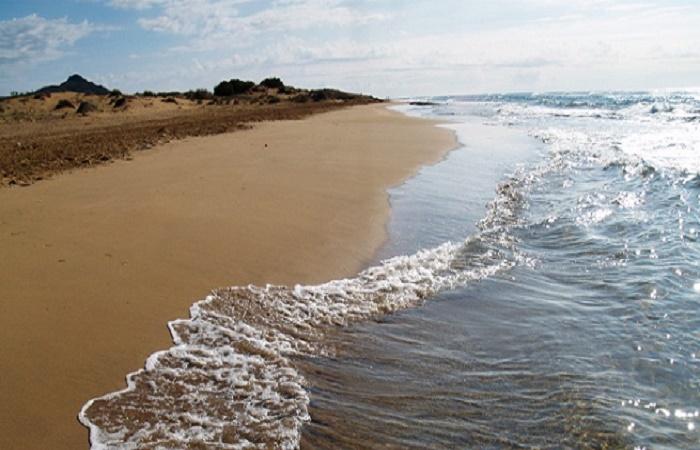 Stranden Calblanque i Murcia