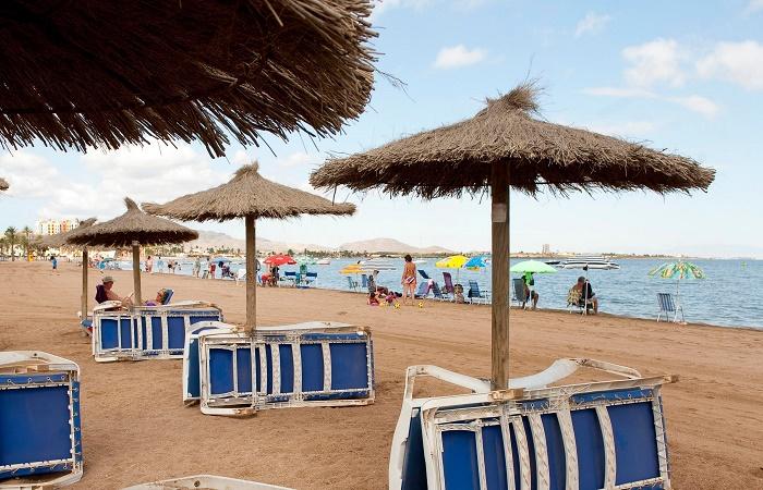 Stranden Playa de Paraíso i Murcia