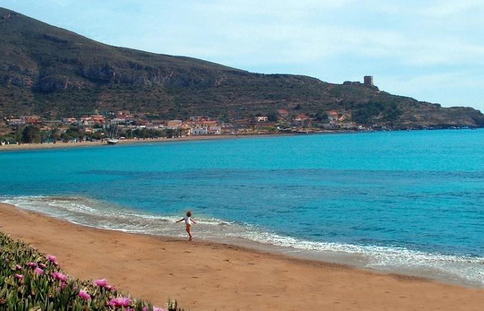 Stranden Playa de la Azohia i Murcia