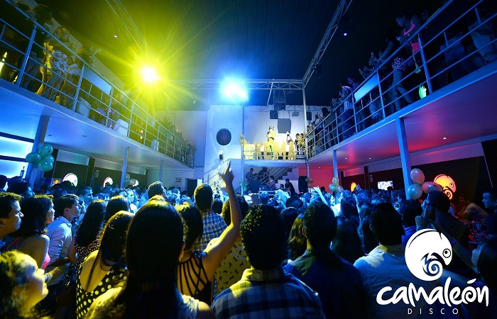 Nattklubben Camaleon i Calpe