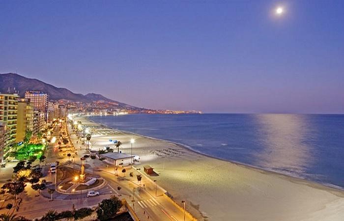 Klimaet i Fuengirola i Spania