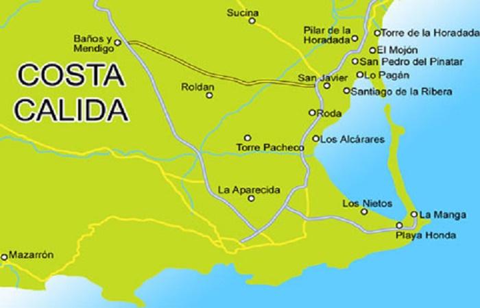 Costa Calida i Spania