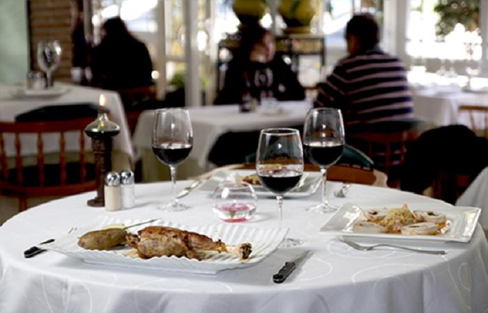 Restaurant Spanish Garden i Torremolinos