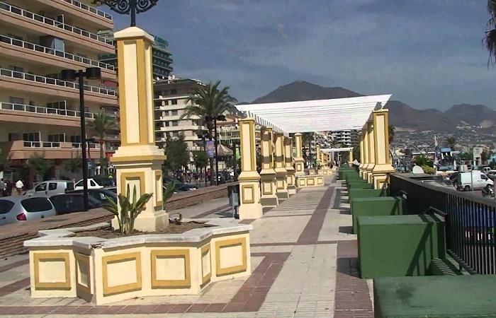 Paseo Maritimo Rey de España i Fuengirola