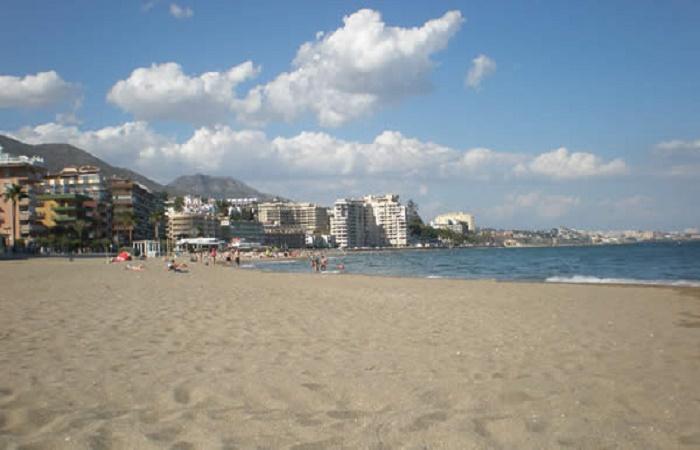 Strand Las Gaviotas i Fuengirola