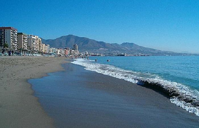 Strand Santa Amalia i Fuengirola