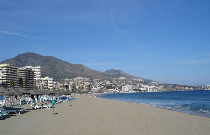 Strand Torreblanca i Fuengirola