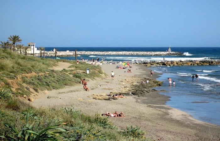 Playa Artola i Marbella