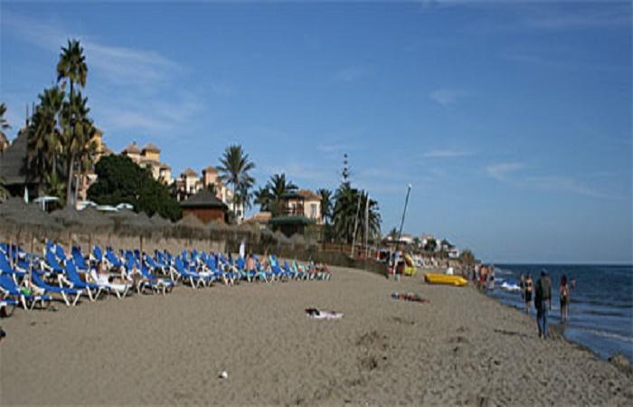 Playa Las Chapas i Marbella