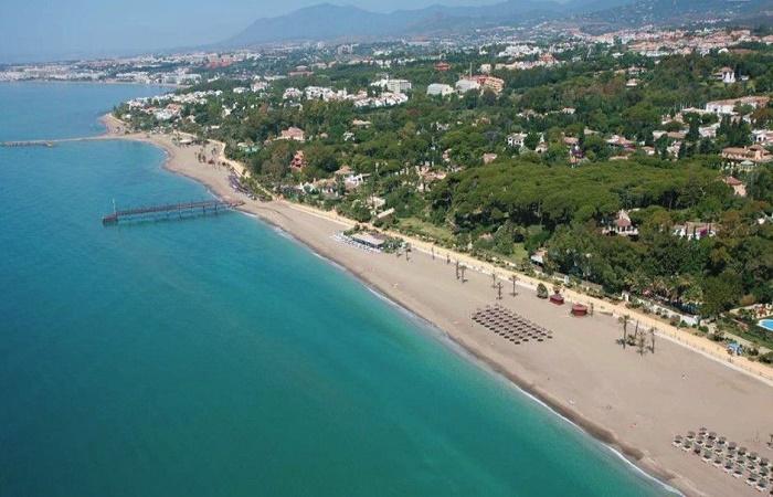 Playa Nagüeles i Marbella