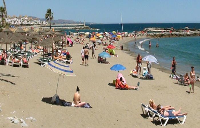 Playa Nueva Andalucia i Marbella