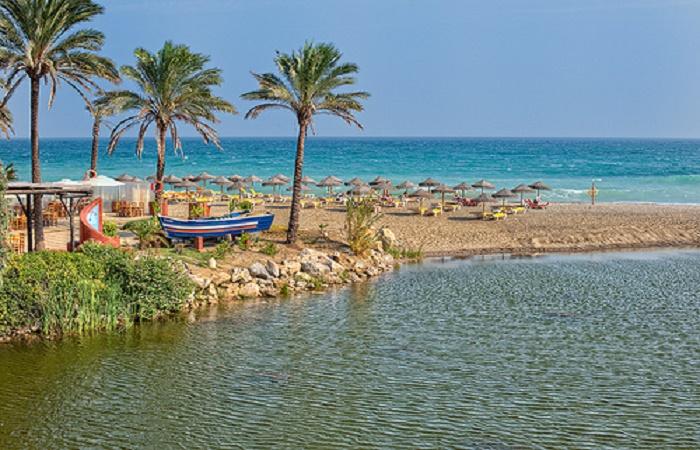 Playa Rio Verde i Marbella