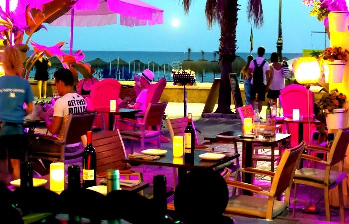 El Gato Lounge i Torremolinos
