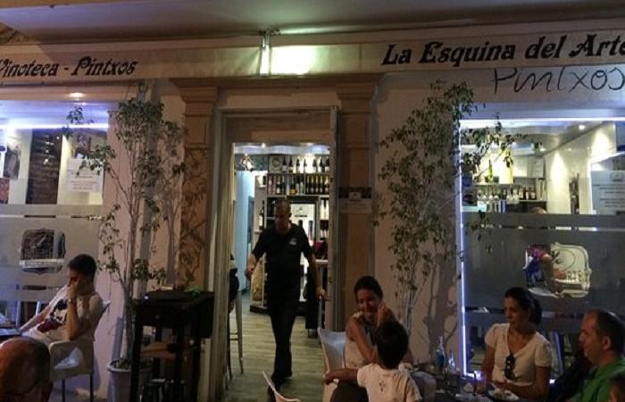 Restaurant La Esquina del Arte i Estepona