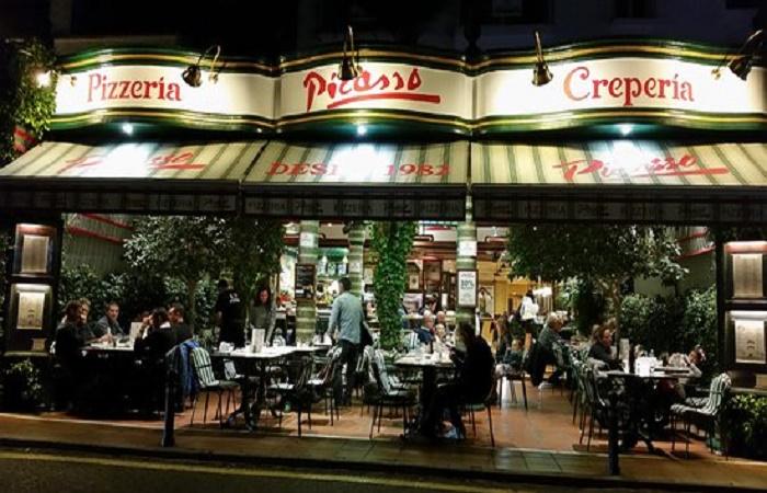 Pizzeria Picasso i Puerto Banus