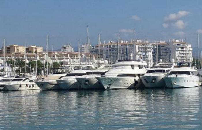 Marinaen i Estepona