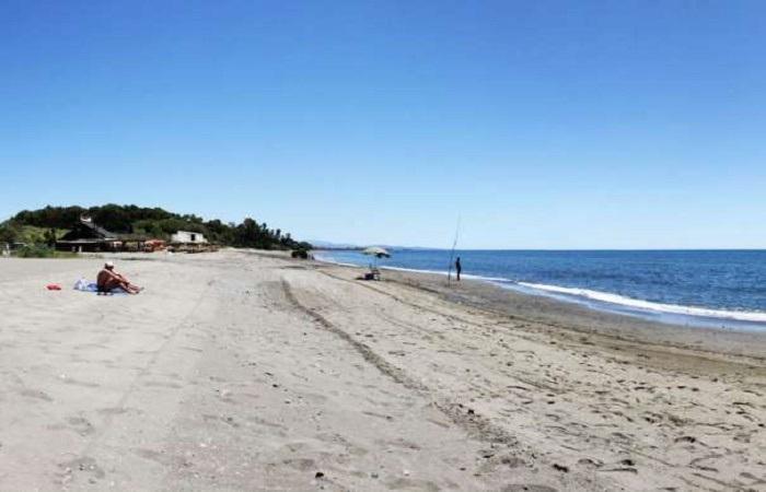 Stranden Playa el Padron i Estepona