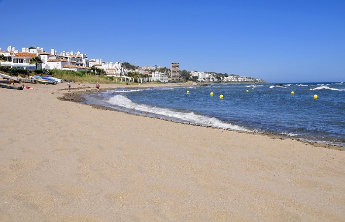 Calahonda stranden i Mijas