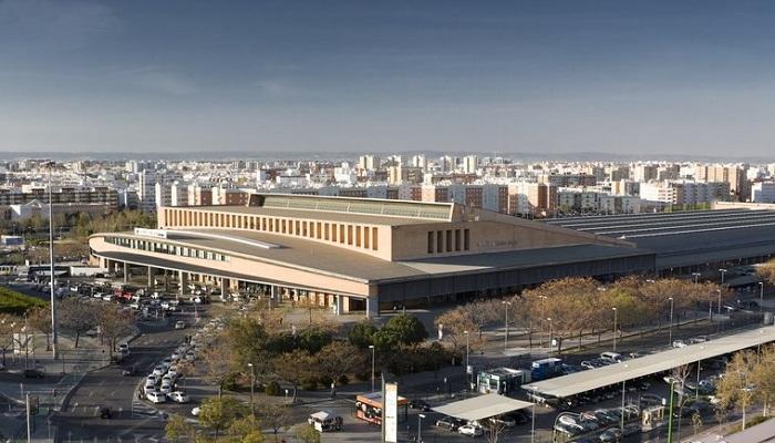 Goldcar Bilutleie Sevilla Jernbanestasjon