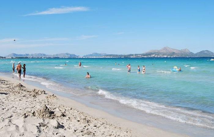 Stranden Bahía de Alcudia Mallorca