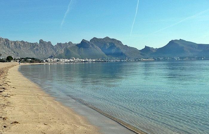 Stranden Puerto Pollensa Mallorca