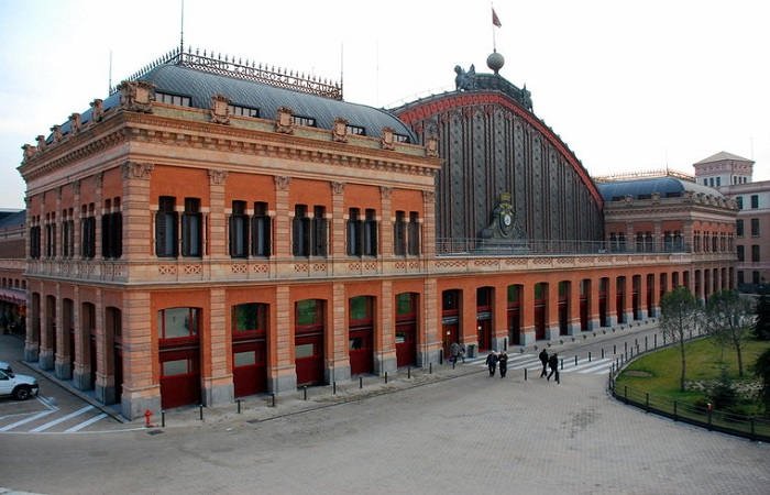 Hertz bilutleie Madrid Jernbanestasjon
