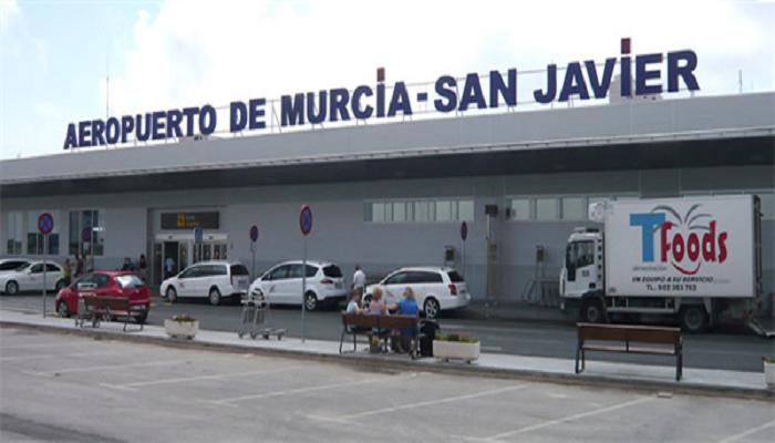 Hertz bilutleie Murcia Lufthavn