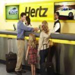 Hertz leiebil Murcia Flyplass