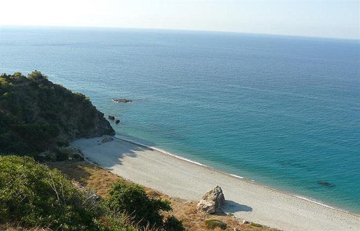 Nakenstrand Pino Beach i Nerja