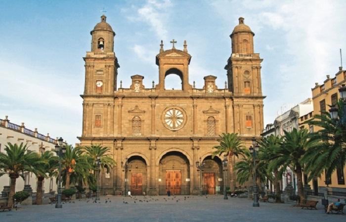Santa Ana katedralen i Las Palmas