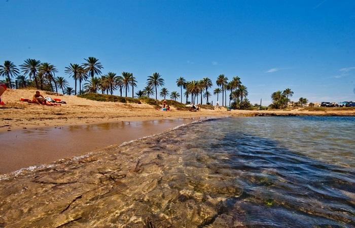 Stranden Cala Ferris i Torrevieja