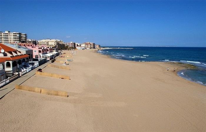 Stranden Playa de La Mata i Torrevieja
