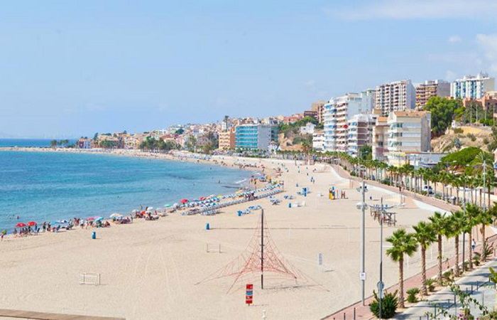 Stranden Playa Centro i Villajoyosa