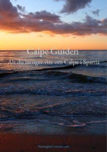 Calpe Guide Spania
