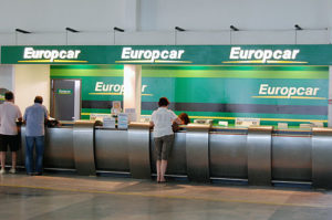 Europcar leiebil Javea