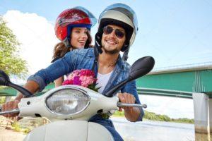 Leie motorsykkel i Mijas