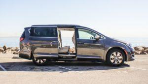 Minivan leiebil på Murcia Flyplass